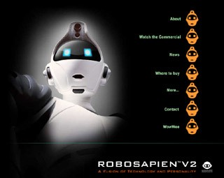 robosapien v2 website